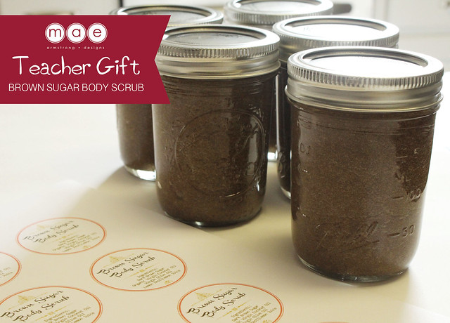 Teacher Gift - Brown Sugar Body Scrub3