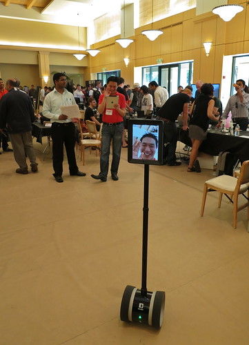 8640552285 8585ae8452 Telepresence Robots @ Cool Product Expo