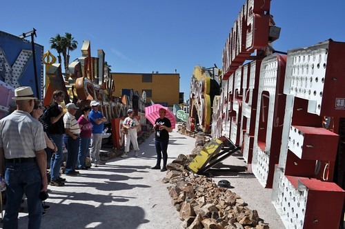 The Solo Travel Girl Did Find her Way to the Neon Museum in Las Vegas, Nevada