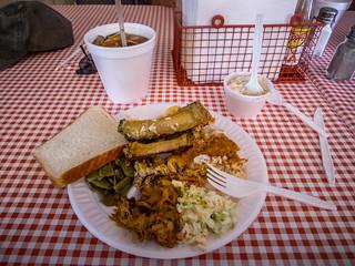 Sweatman's BBQ Plate