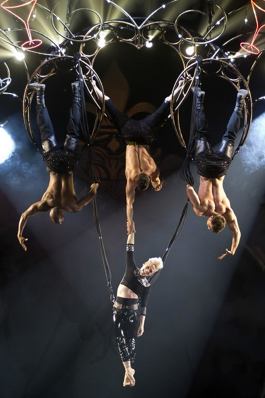 Pink performs at Manchester Arena