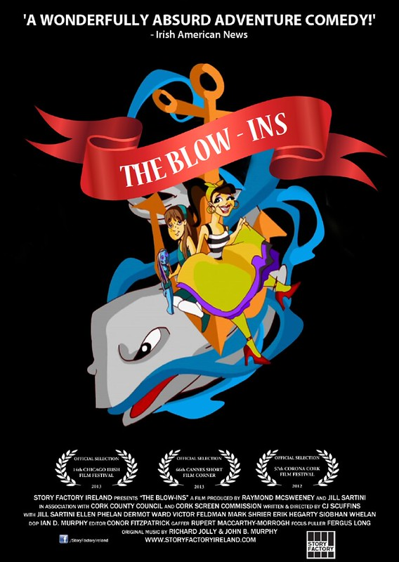 The Blow-Ins - Poster - April 16, 2013