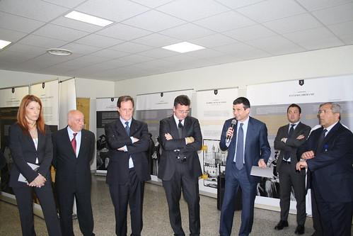 L'inaugurazione della mostra su Tommaso Moro all'ospedale di Merate