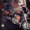 #HarleyDavidson 2008 #ultra #screamingeagle #lowmiles #brogan #cadillac #forsale #loaded #callcliffbeebe