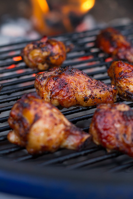 Grilled & Smoked Chicken Wings