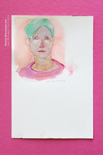 Christopher Isherwood, di Paola Monasterolo. Queer Portraits: 1
