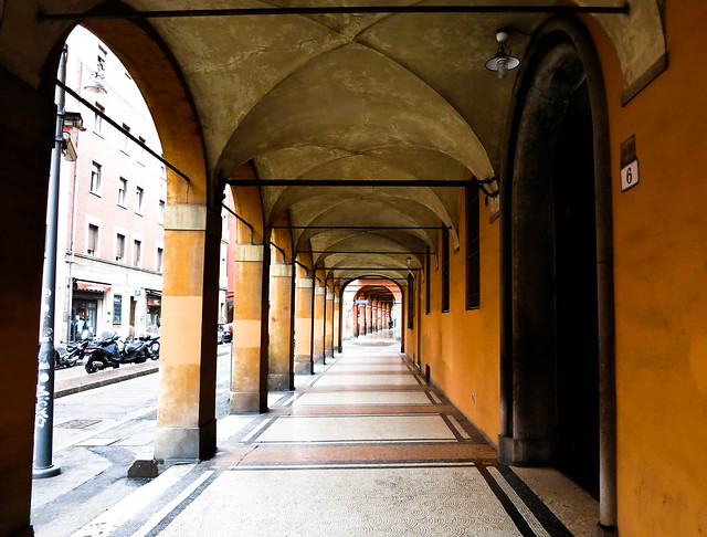 The Covered Walkways of Bologna