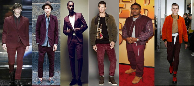 what to wear with burgundy shirt