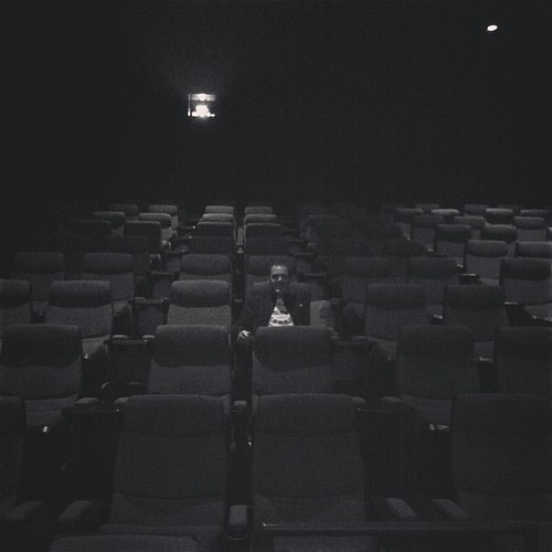 #onlyonesinthetheater