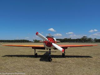 Soviet WWII Plane, Melbourne