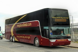 50301 SF13FMC Stagecoach Megabus Gold