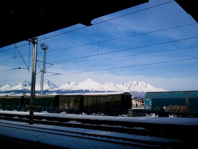 @ The Train Station | Poprad, Slovakia