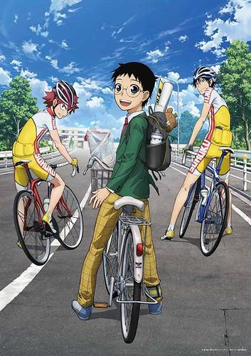 130418(2) – 唯有強者才能生存的世界、競速自行車漫畫的改編動畫版《弱虫ペダル》(飆速宅男)已經發表第一張海報!