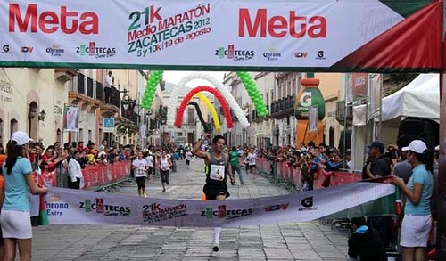 Medio Maratón de Zacatecas 2013
