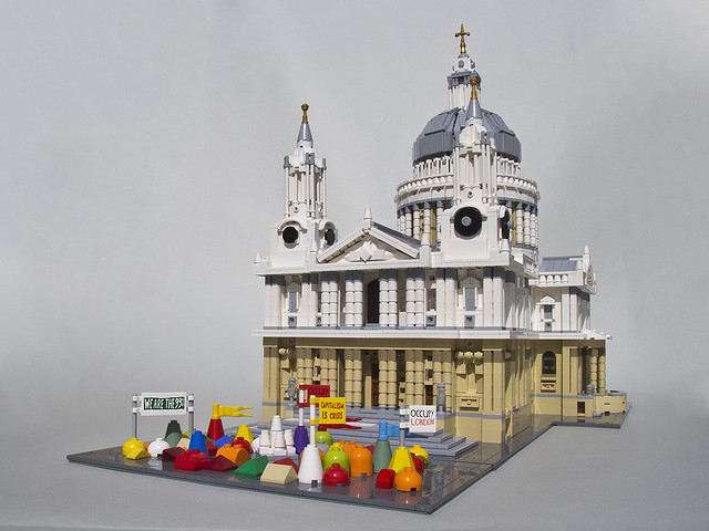 Moc London St Paul S Cathedral Special Lego Themes