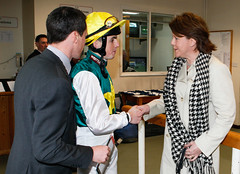 Maria Miller at The Racecourse Newbury