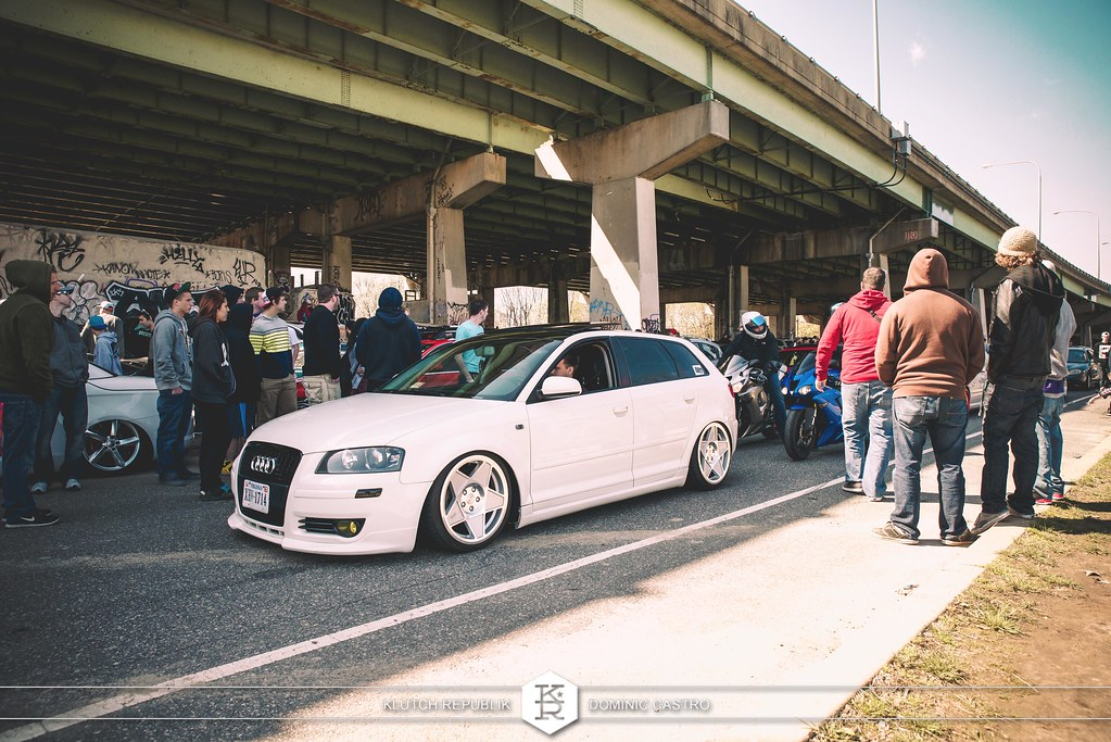 cl_dub white audi a3 3sdm 0.05 at shrinkallthecars meet 2013 shrink all the cars FDR park - slammed dropped dumped bagged static coilovers hella flush stanced stance fitment low lowered lowest camber wheels tucked 16s 17s 18s 19s 20s 3piece 1 piece custom airbags scene scenester