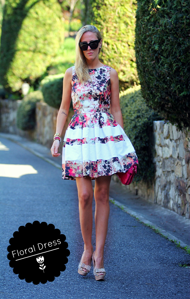 STYLE LOVER FLORAL DRESS VIII