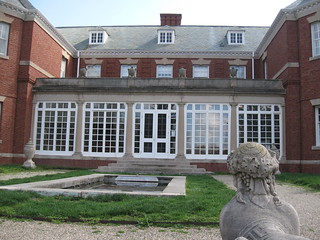 Allerton Mansion with Sphinx