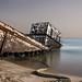 المركب الغرقانه .. Old ship by sombek   Abdullah Hashim