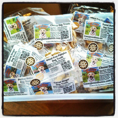 Who's visiting the #8 pit at @nhms tomorrow to get their @caseyjonesbones #dogtreats ? #uslegends #racing