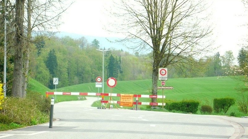 Feldbrunnen road to Riedholz closed