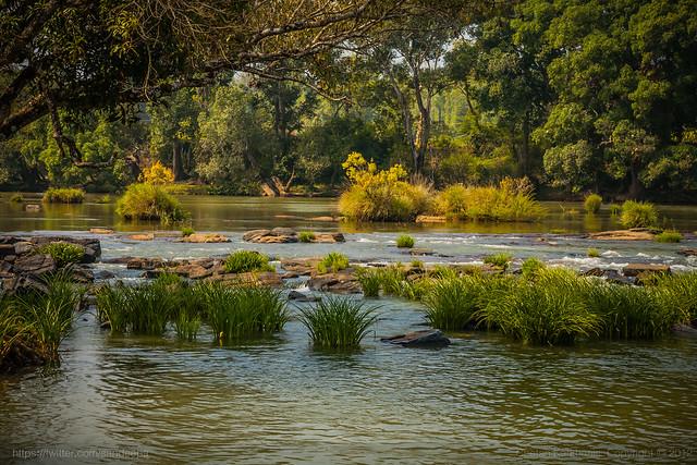 Kaveri River Near Dubare Elephant Camp Karnataka India Flickr Photo Sharing