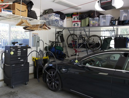 Model S Charging Cable setup