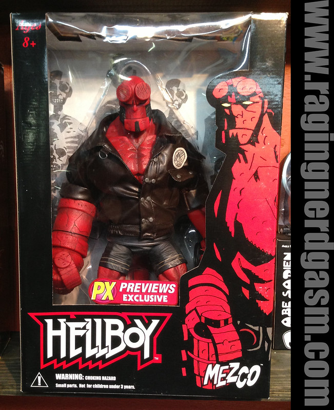 Mezco PX Previews Exclusive Hellboy Large Figurewith Jet Pack