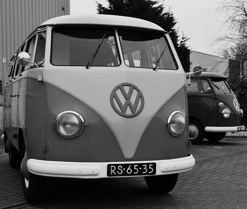 RS-65-35 Volkswagen Transporter bestelwagen 1958