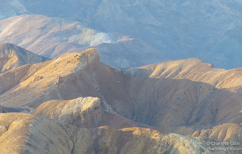 Desert Mountains in the Morning, Furnace Creek, Death Valley
