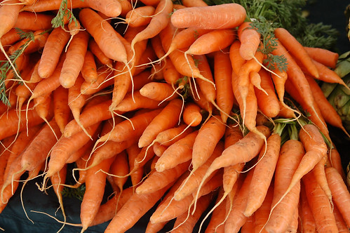 Carrots in Season