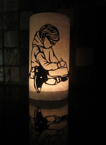 harriet the spy lantern by Rakka