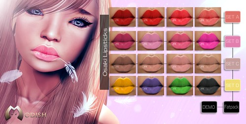 Osaki_lipstick_Sets @ The Box by ::Modish::