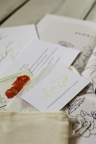 Kinfolk Dinner letterpress