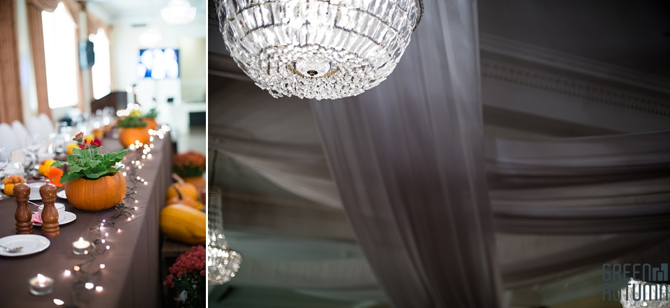 Old hollywood glam meets diy rustic autumn wedding at the for Diy hotel decor