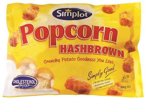 Simplot Popcorn hashbrown