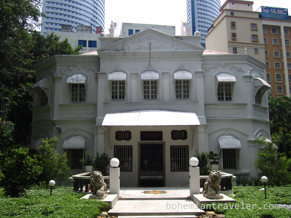 colonial building in Kuala Lumpur