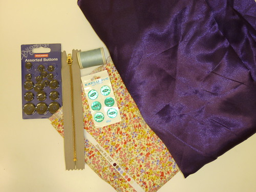 33 - Fabric and Notions from the swap