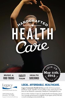 Legacy supports Handcrafted Healthcare in Houston.