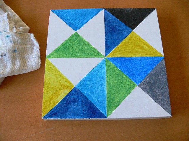 Jenny: Painting Triangles
