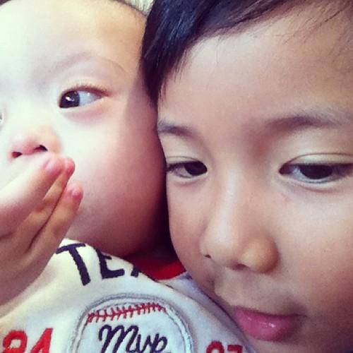 siblings selfie!!!