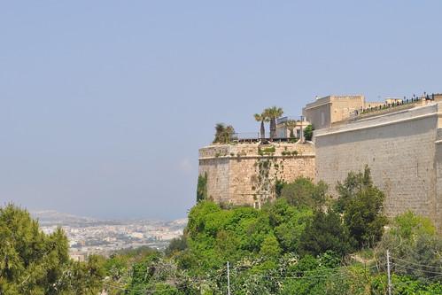 Mdina citadel walls
