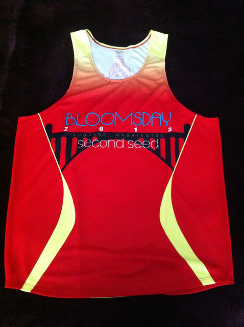 2013 Bloomsday Second Seed Singlet