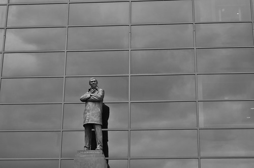 Old Trafford-Sir Alex Ferguson Statue