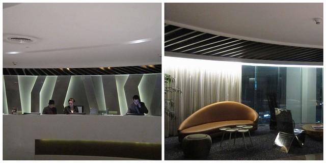 F1 Hotel lobby