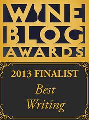 2013 Wine Blog Awards: Best Writing
