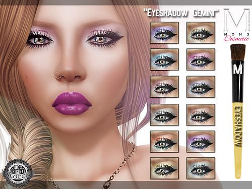 MONS / Makeups - Eyeshadow Gemini by Ekilem Melodie - MONS