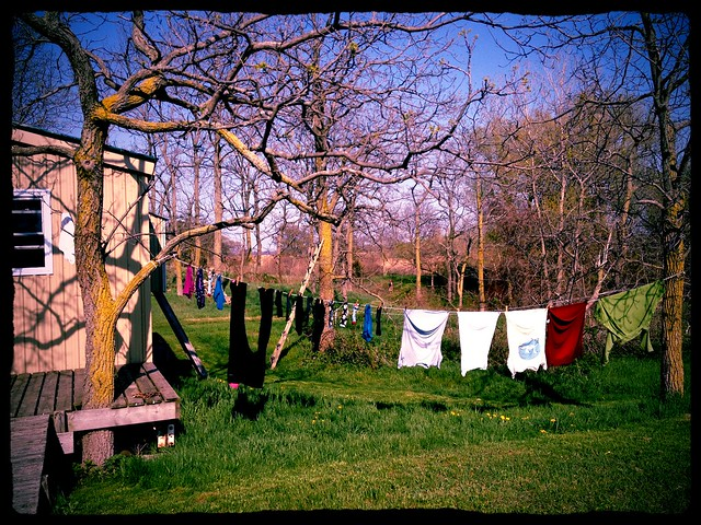 A good day for drying