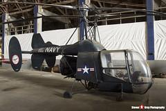 129313 - 4-22 - Kaman HTK-1 - Tillamook Air Museum - Tillamook, Oregon - 131025 - Steven Gray - IMG_8016